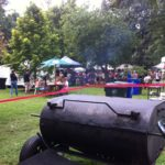 Kentucky BBQ Sauce Master in Action at the Woodland Art Fair